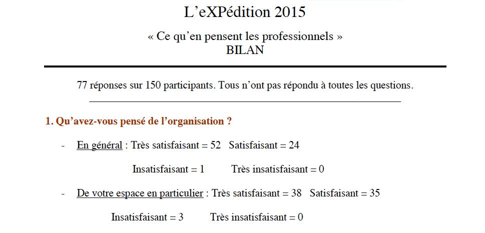 L'eXPédition-2015