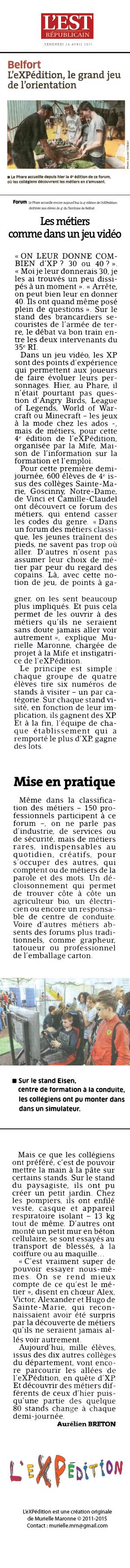 presse-eXPédition-reseau-metier-murielle-maronne